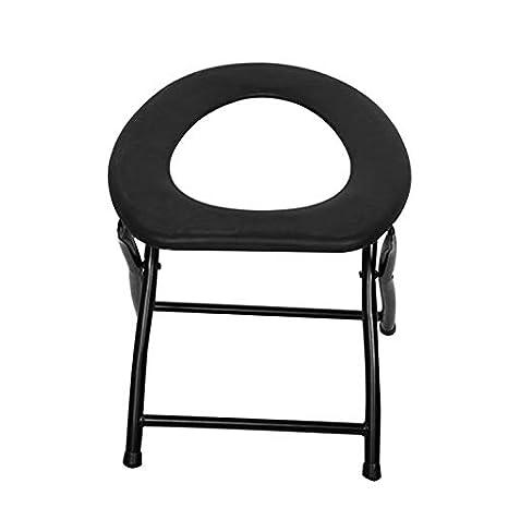 silla de inodoro plegable silla de pesca escalada accesorios para actividades al aire libre viaje camping Port/átil reforzado silla
