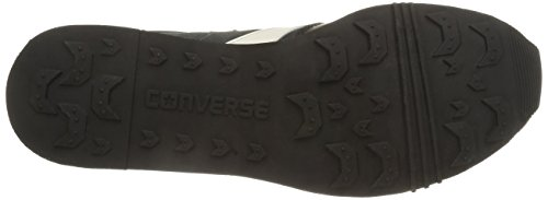 Converse Herren, Auckland Racer OX Suede/Leathe, Schwarz (Black/Iron) schwarz (Black/Iron)