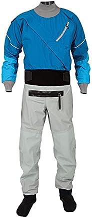 Drysuit Men's Front Zipper Sailing Standard Nylon Paddling,Kayaking Equipment Zipper,Waterproof