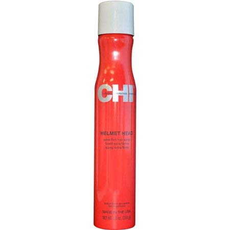 Limited Edition C.H.I. Helmet Head Hair Spray 10 oz -Perfume/Cologne Samples Included-