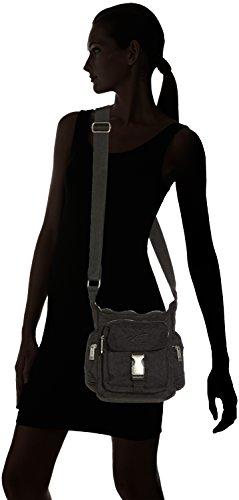 sand Beige Pour Active 23 Bandoulière Umhängetasche Camel schwarz 8 X 5 Nero 20 Sac Femme Journey 01w8q