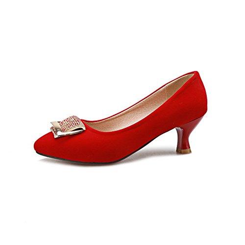 Col Scarpe Donna Tacco Red 1to9 5X7Oqwfxf