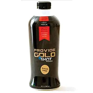 Provide Gold 1 Shot Liquid Protein - Cherry (Sugar Free) - 30 fl.