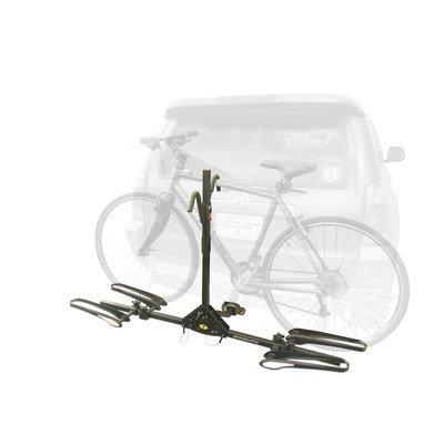 Stoneman Sports VR-796 Sparehand Latitude Hitch Mount 2-Bike Vehicle Rack for All Frame Types, Black Finish