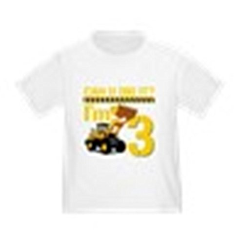 CafePress - Can You Dig It? Im 3 T-Shirt - Cute Toddler T-Shirt, 100% Cotton (Can U Dig It compare prices)