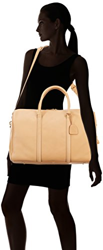 BREE Collection Stockholm 17, nature, weekender bag S - Bolso mochila para mujer Marfil (nature 750)
