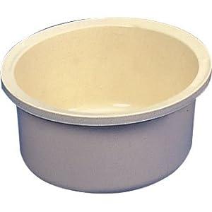 """White Round Washing Up Bowl - 13.5"""" Size 340mmm: Amazon.co"""