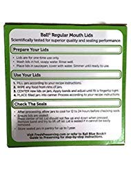Ball Regular Mouth Jar Lids 12 Dozen or 144  Lids Total