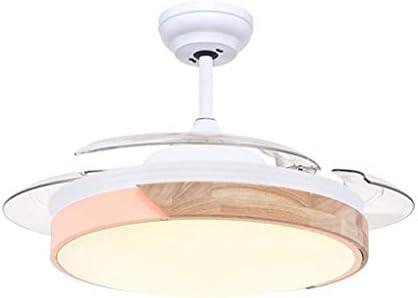 Luz del ventilador Sencilla lámpara de techo LED del ventilador ...
