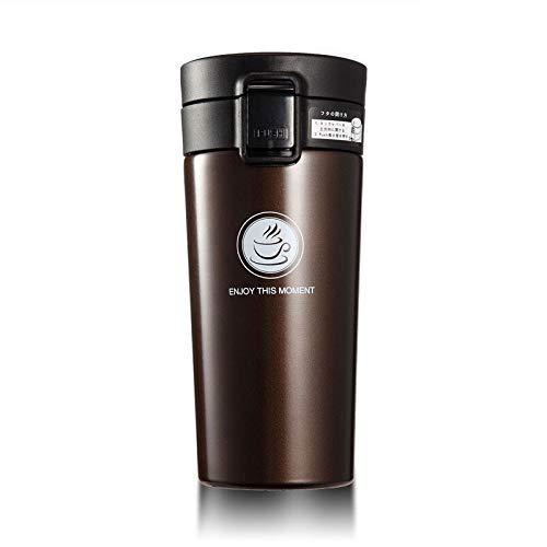 Double Wall Stainless Steel Flasks 500Ml Thermo Cup Coffee Tea Milk Travel Mug Thermol Bottle AQW310 coffee 380ml
