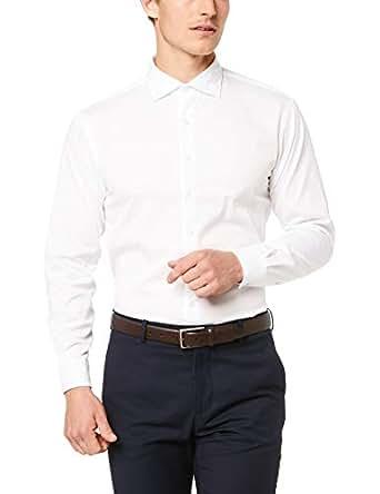 Van Heusen Euro Tailored Fit Business Shirt White