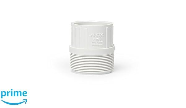 Amazon.com : Aquascape 29157 PVC Male Pipe Adapter 2