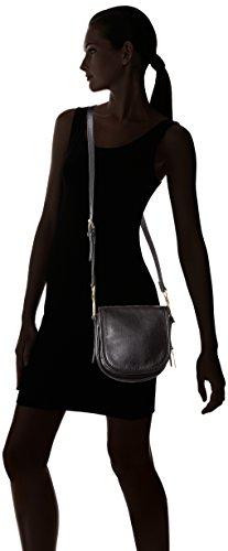 Fossil - Rumi, Bolsos bandolera Mujer, Schwarz (Black), 7x18.5x19 cm (B x H T)