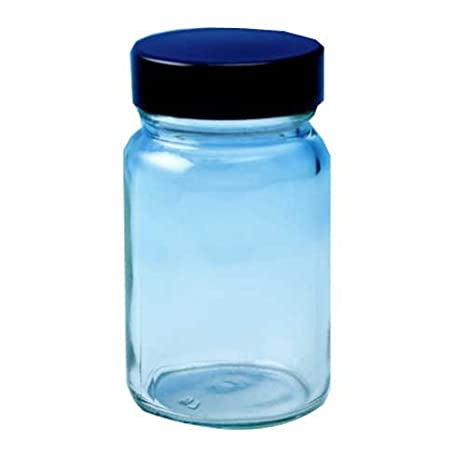 Generic Lab Supplies BCP060C/R338EPE Powder Bottle Clear Glass Wide Mouth with Cap, 60 mL (Pack of 72): Amazon.es: Industria, empresas y ciencia
