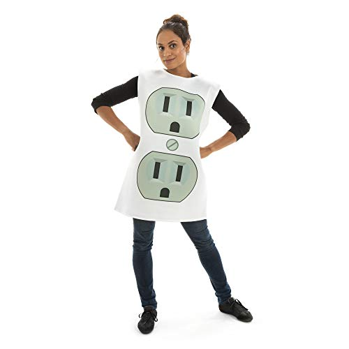Sultry Socket One-Size Halloween Costume - Funny Adult Unisex Mascot