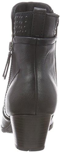 Softline 25361 - botas de material sintético mujer negro - Schwarz (schwarz (BLACK 001 ))