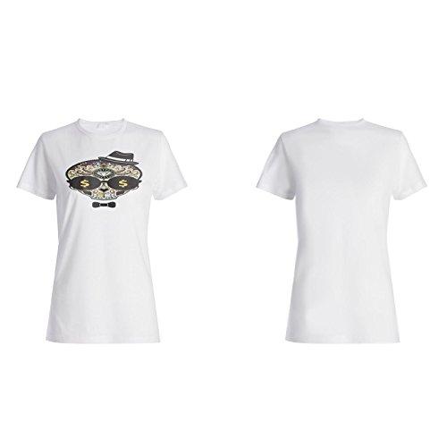 Neue Lustige Zuckerschädel-Neuheitkunst Damen T-shirt i524f