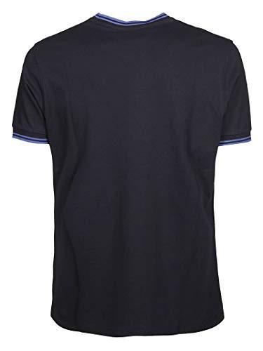Npmb338135sitou809 T Fay Hombre Negro Algodon shirt pOxZ7vq4