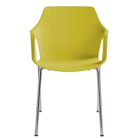 Centrosilla - Set 2 sillas Sillón Moderno Vesper Color Arena ...