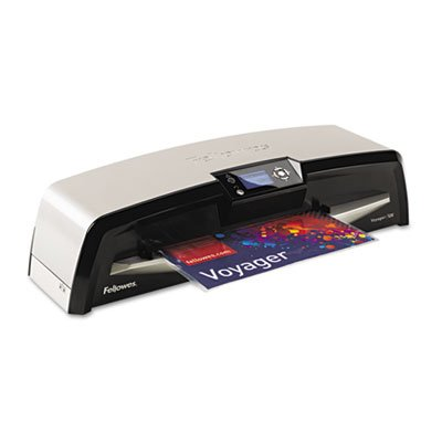 FELLOWES MFG. CO. Voyager VY 125 Laminator, 12 1/2 Inch Wide, 10 Mil Maximum Document Thickness, Sold as 1 Each (125 Pouches Laminator)