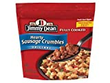 JIMMY DEAN PORK SAUSAGE HEARTY CRUMBLES ORIGINAL 10 OZ PACK OF 3