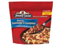 JIMMY DEAN PORK SAUSAGE HEARTY CRUMBLES ORIGINAL 10 OZ PACK OF 3 by JIMMY DEAN At The Neighborhood Corner Store (Image #1)