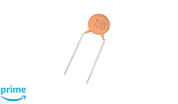 Pack of 50 Ceramic Disc Capacitor 180pF