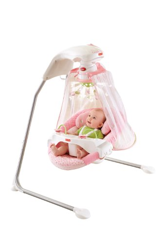 Fisher Price Papasan Cradle Swing Butterfly Garden One