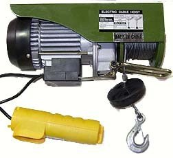 Electric Cable Hoist - Winch