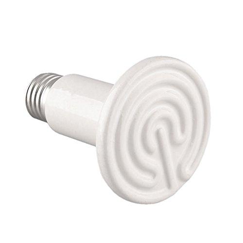 NOMOYPET Ceramic Infrared Heat Emitter Lamp Bulb, 100 Watts by NOMOYPET (Image #1)