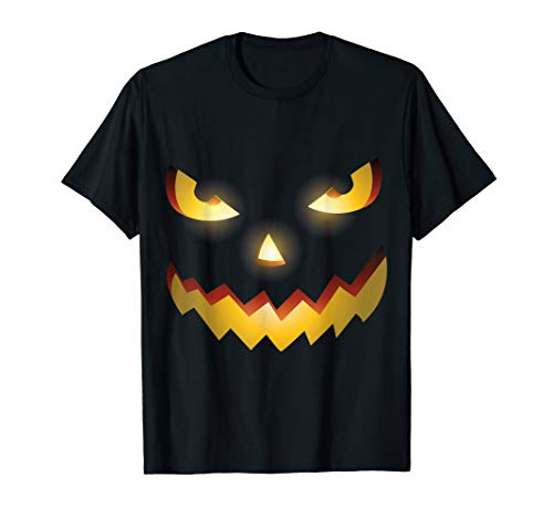 (The Official Scary Face Halloween Costume Tee)