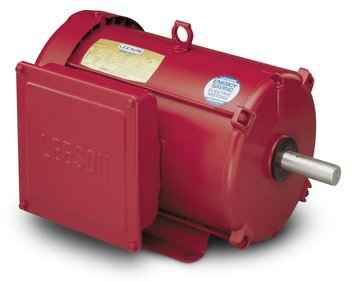 10hp 1740RPM 215T Frame 230volts (Farm Duty) Extra High Torque Leeson Electric Motor # 140414 - Nema 215t Frame