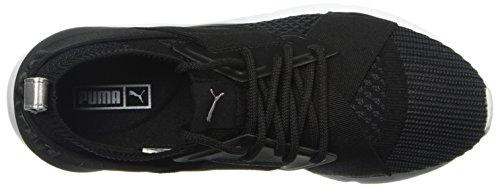 Women's Puma Black Puma White Sneaker Evoknit asphalt Muse puma Wn 6q4xwR