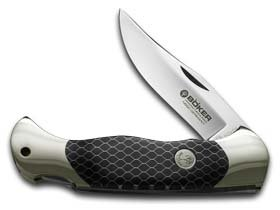 BOKER Scout Honeycomb black 112501 Scout Honeycomb Pocket Knife, black