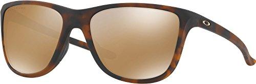 Oakley Women's Reverie Square Sunglasses, Matte Brown Tortoise, 55 - Oakley Lifestyle Sunglasses Women's