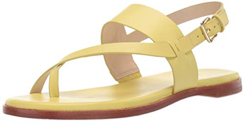 (Cole Haan Women's G.OS Anica Thong Sandal Sandal, Yellow, 9 B US)