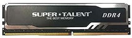 Super Talent DDR4-2400 SODIMM 16GB Value Notebook Memory PC Memory F24SB16GV
