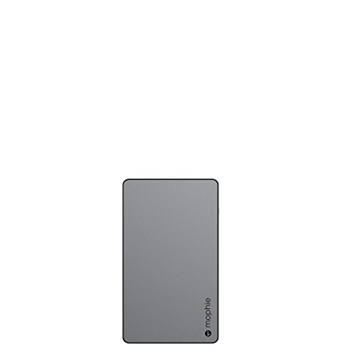 (mophie powerstation External Battery for Universal Smartphones and Tablets (6,000mAh) - Space Grey)