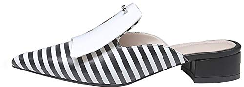 5cm Chaussures Sur Chaussons Multicolore Glisser 4 Femme Bloc Calaier Tuoxio 8PxwqtYxB