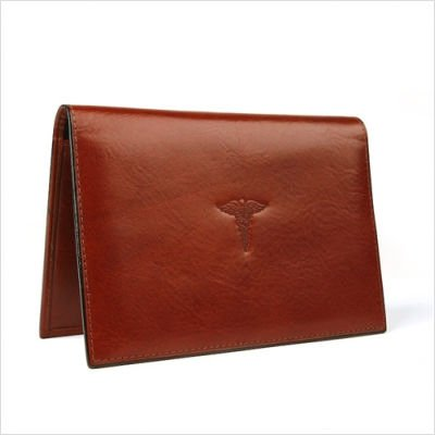 Bosca Old Leather Prescription Pad (Cognac) by Bosca (Image #1)