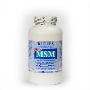MSM torpille comprimés (500 ct)