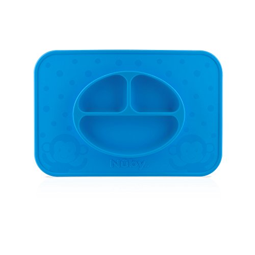 Nuby Sure Grip Miracle Mat, Blue