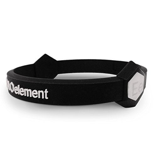 Extra Element Performance Wristband: Power, Balance, Sport, Silicone Rubber Band, for Men or Women (BLACK) Extra Small by Extra Element