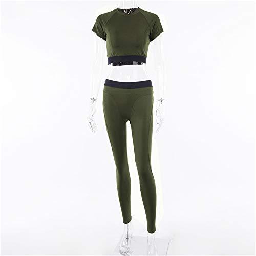 Amazon.com: Yoga Sets High Waisted Sportswear Woman Fitness ...