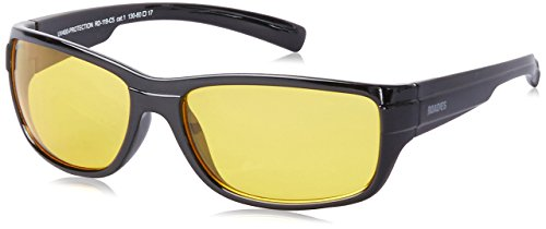 MTV Roadies Unisex Sporty Wrap-Around Protective Light Weight with 100% UV Blocking Shatterproof Polycarbonate Lens Sunglasses RD-119 (Ambermatic Yellow, Ambermatic - Yellow Ambermatic
