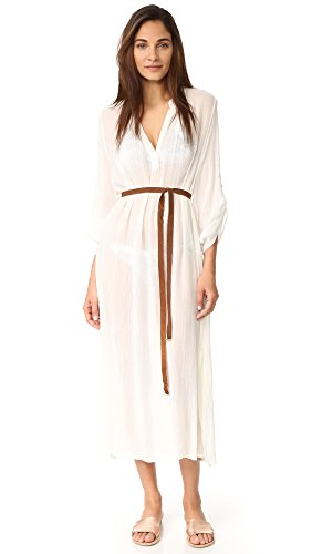 Eberjey Women's Summer Of Love Haven Cover Up Dress, Cloud, S/M by Eberjey (Image #4)'