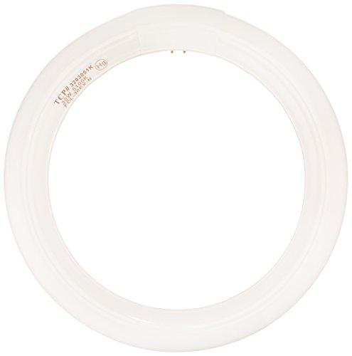 TCP CFL Circle Lamp, 120W Equivalent, Daylight White (5100K), T9 Circline Lamp