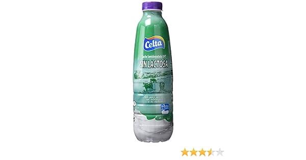 Celta - Leche Semidesanatada Sin Lactosa - Botella 1 L: Amazon.es: Alimentación y bebidas