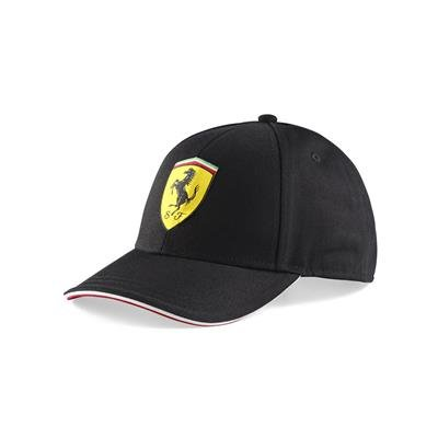 Ferrari - Gorra infantil en negro Sebastian Vettel: Amazon.es ...