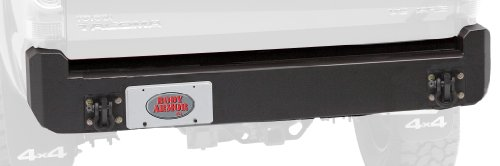 Body Armor 4x4 TC-2961 - Black - Steel Rear Bumper for 2005-2013 Toyota Tacoma